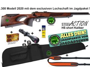 Steelaction HS Lochschaft Alles-drin-JagdPaket von Jagdabsehen