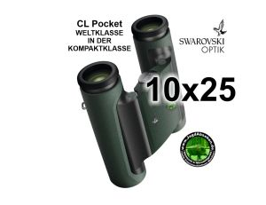 Swarovski Wander-Fernglas CL Pocket 10x25 bei Jagdabsehen 1