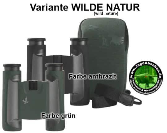 Swarovski Wander-Fernglas CL Pocket bei Jagdabsehen wild nature