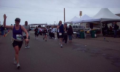 Joe and Kyle at Grandma's Marathon