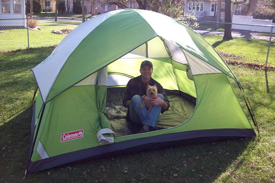 Coleman tent review & Colman Liberty Mountain Sports Sundome Camping Tent Review