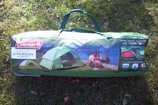 Coleman 4-person Sundome tent review & Colman Liberty Mountain Sports Sundome Camping Tent Review