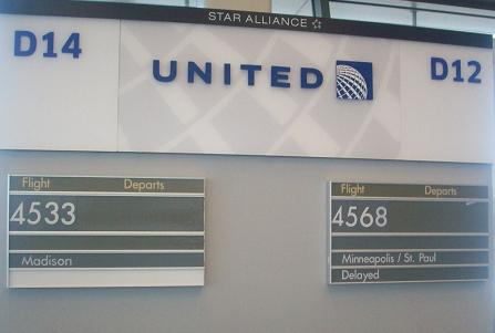 Our United Airline Flight Delay