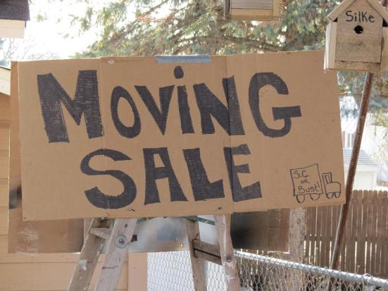 The Moving Sale