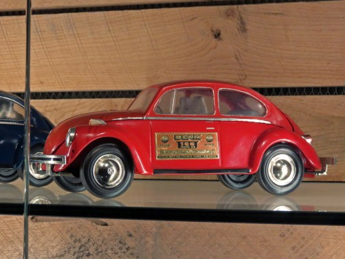 Red VW Bug Another Cool Jim Beam Decanter