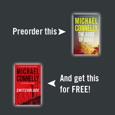 The Michael Connelly Preorder Offer