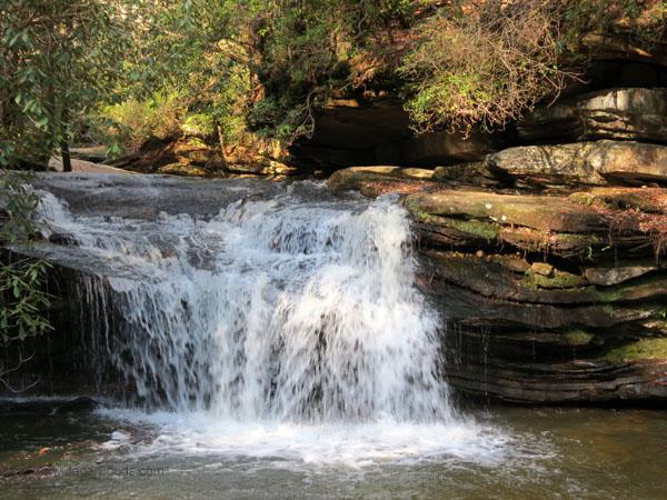 Waterfall Blue Ridge Mountains