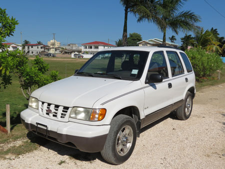 Buying a Car in Belize