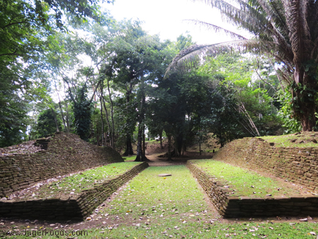 Mayan Ball Court at Nim Li Punit