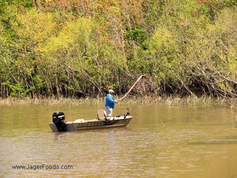 Fishing Lake Wateree In SC