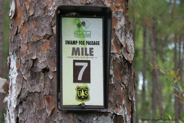 Swamp Fox Passage Mile 7 in SC