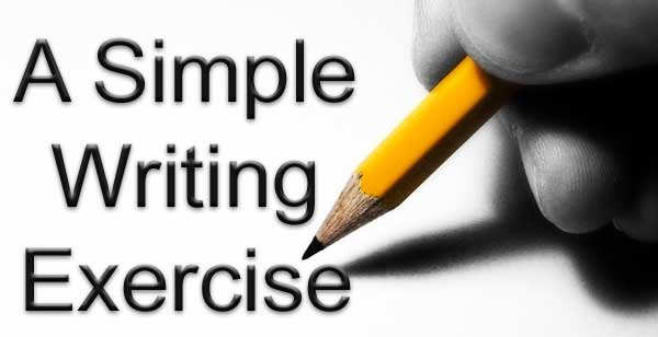 A simple writing exercise