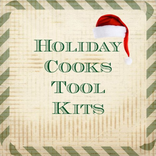 Tool kits for cooks preparing Holiday meals.