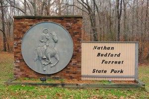 Nathan Bedford State Park Entrance
