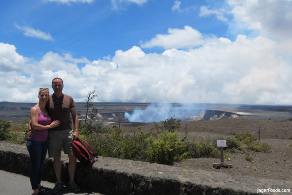 Kilauea Overlook outside the Jaggar Museum