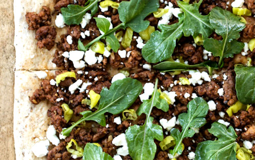 Easy & Healthy Lamb Pizza
