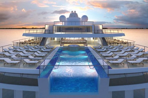 Beginner Cruise Guide - a stunning pool on a cruise ship