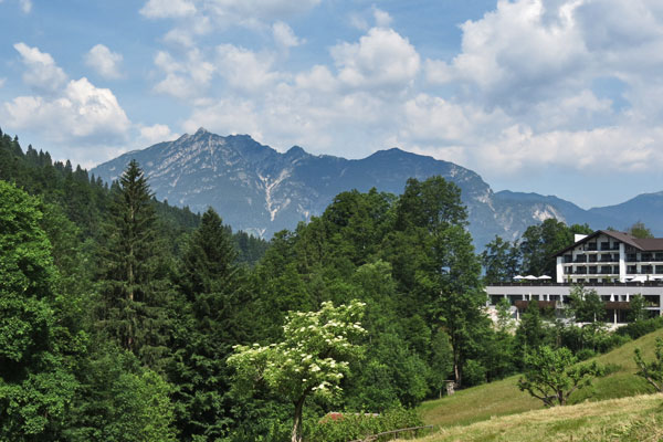 Bavarian Alps in Southern Germany