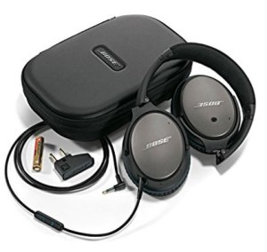 Headphones - Must have items for every trip.