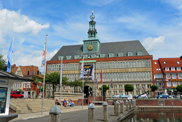 Downtown Emden In Northern Germany