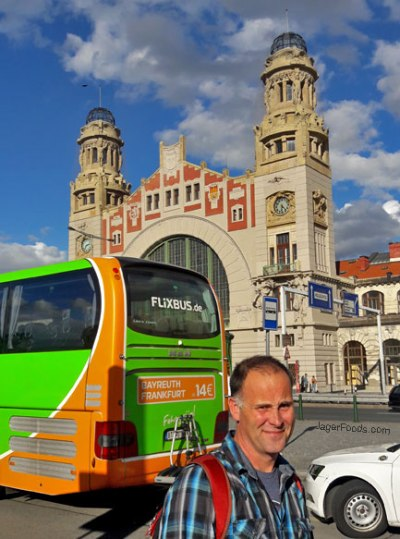 Taking the Flix Bus To Prague In The Czech Republic