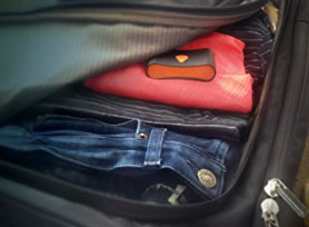 Safe travels with the Trakdot luggage tracker