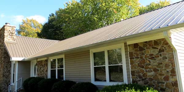 Our new metal roof in Jackson TN