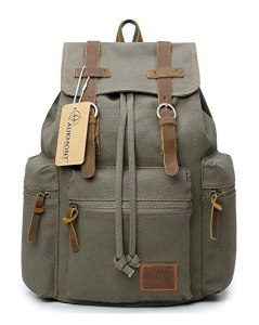 Canvas Backpacks Vintage Rucksack