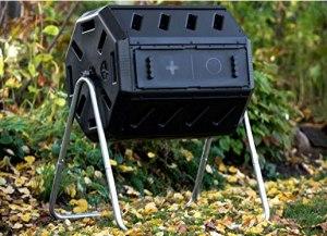 Yimby Tumbler Composter In Black