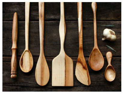 Benefits of using wooden spoons in the kitchen