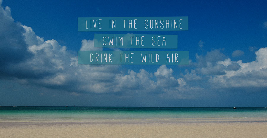 Summer time quote