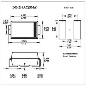 100PCS Dioda SMD IN4001 M1 IN4004 M4 IN4005 M5 IN4007 M7 1A