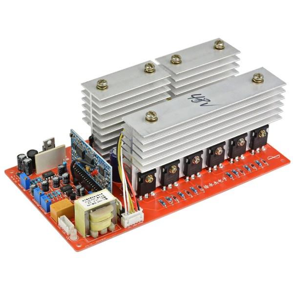 Kit PWM Pure Sine Wave Inverter 48V 60V 6000W 7500W Watt