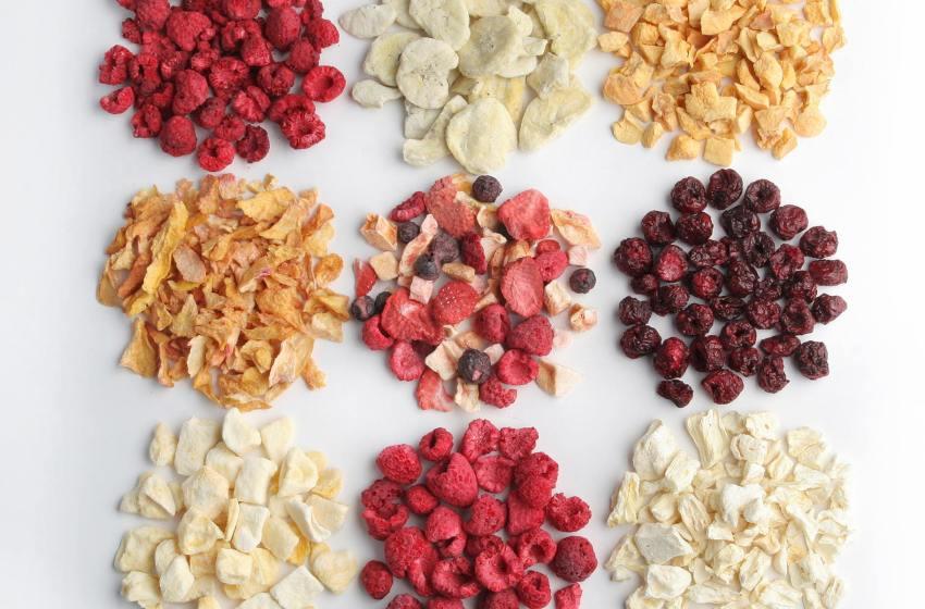 Сублімовані продукти: зберігаємо смак і користь. Як правильно обрати обладнання для сублімації ягід і фруктів