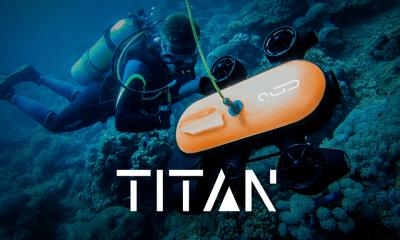 Titan, Drone Untuk Merekam Keindahan Bawah Laut