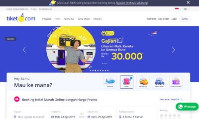 5 Aplikasi Pemesanan Tiket Online Populer di Indonesia
