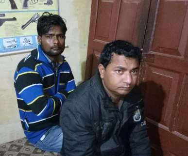 75 किलो गांजा जब्त, कार के साथ दो अंतरराज्यीय तस्कर गिरफ्तार