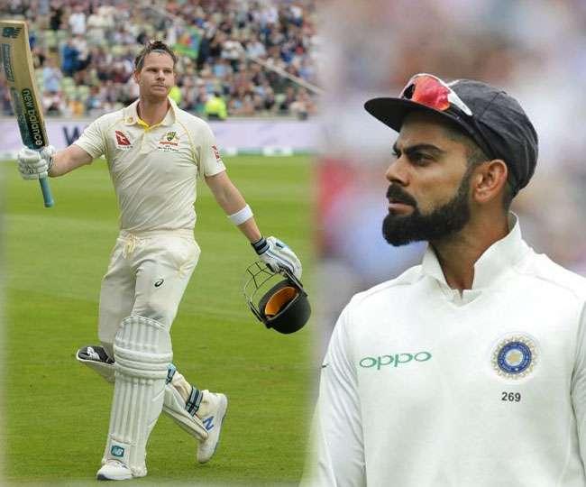 विराट कोहली की बादशाहत पर खतरा, स्टीव स्मिथ ने ICC टेस्ट रैंकिंग में लगाई छलांग