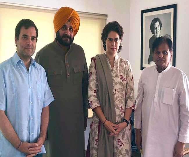 अमरिंदर और सिद्धू के विवाद में आया नया मोड़, राहुल व प्रियंका से मिले गुरु, बोले- पूरी बात बता दी