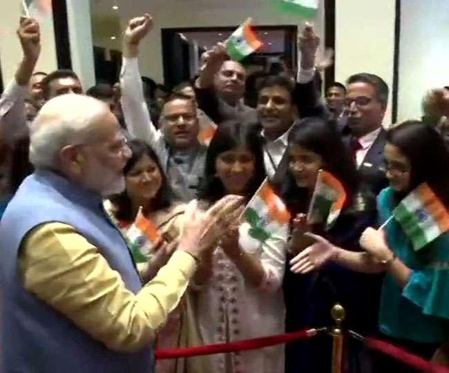 VIDEO: भूटान में PM नरेंद्र मोदी का भव्य स्वागत, लगे मोदी-मोदी के नारे