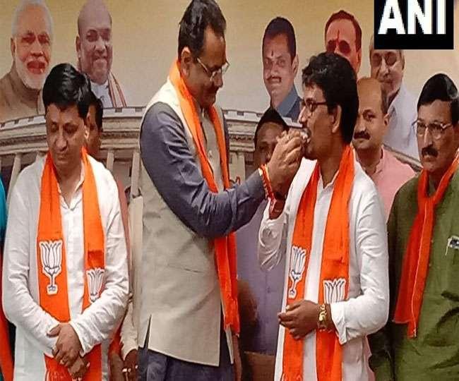 गुजरात: अल्पेश ठाकोर और धवल सिंह झाला भाजपा में शामिल Gandhinagar News
