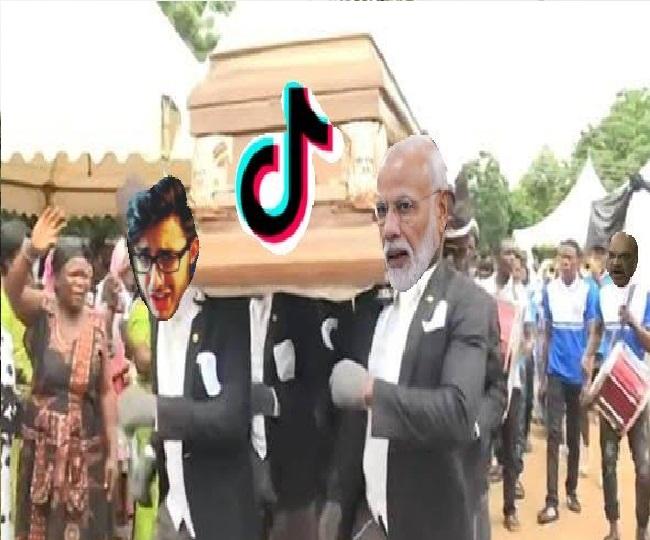 Riptiktok Funny Memes Flood Twitter Netizens Bid Farewell With