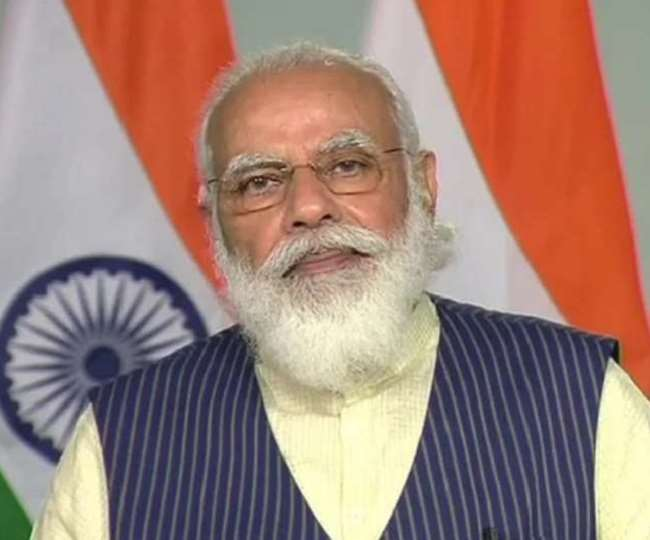 प्रधानमंत्री नरेंद्र मोदी की फाइल फोटो ।