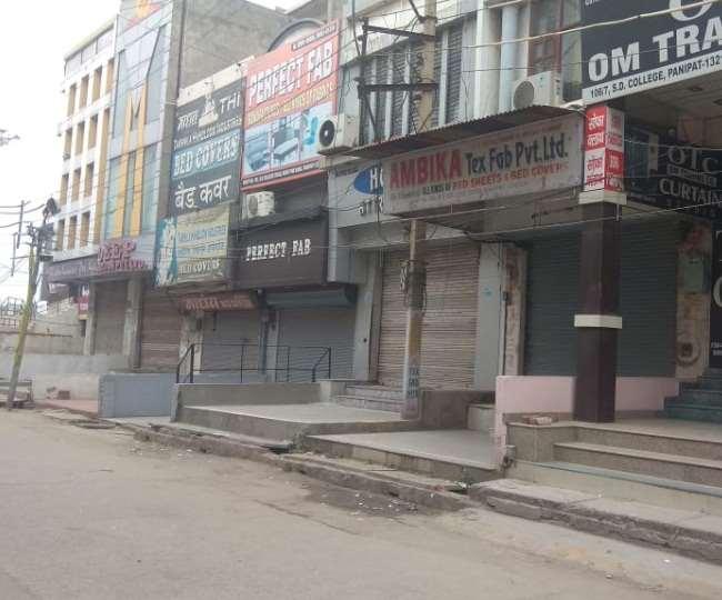 PM की अपील पर हरियाणा में एक दिन पहले जनता कर्फ्यू जैसे हालात, बाजार बंद, सड़कें सुनसान