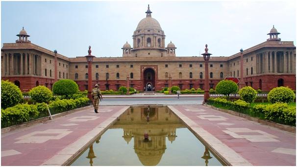 Image result for Rashtrapati Bhavan, India