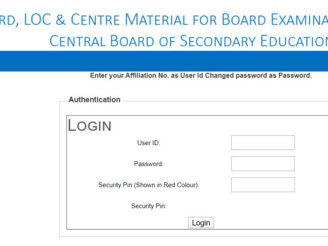 CBSE Admit Card 2020 for 10th & 12th Released At cbse.nic.in