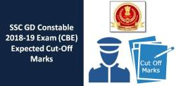 SSC GD Constable 2018-19 CBE Expected Cut-Off Marks