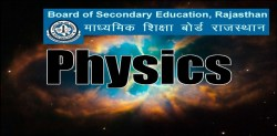 Rajasthan Board Class 12 Physics Syllabus