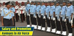 salary and promotion in air force