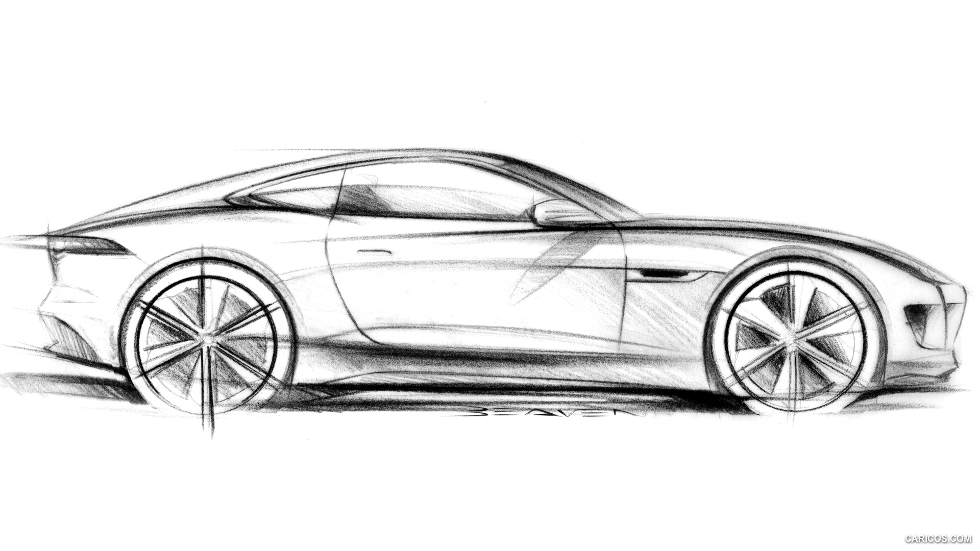 Initial Hi Res F Type Sketches